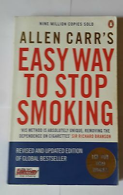 Allen Carr's Easy Way to Stop Smoking Paperback Fourth Edition 2008