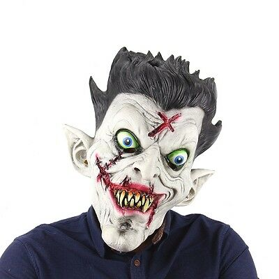 Scary mascara full face latex horror adult Halloween mask party decoration