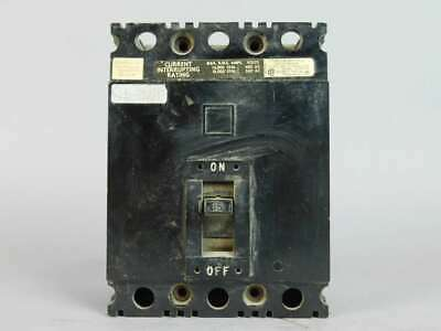 Square D 3-Pole, 15 Amp, Circuit Breaker LJ-218