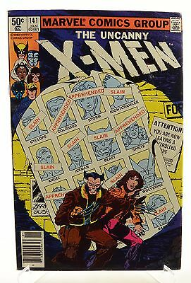 Marvel Comics Uncanny X-Men #141 1980 Days of Future Past Pt 1 KEY ISSUE Byrne