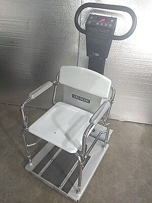 Welch Allyn / Scale-Tronix 6502 Digital Physician  Patient Stand Sit Chair Scale