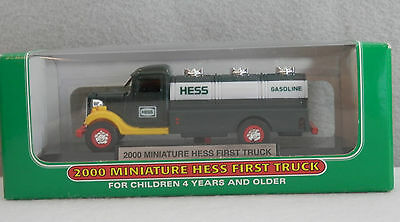 Hess Miniature Vehicle - 2000 Hess First Truck - New in Box