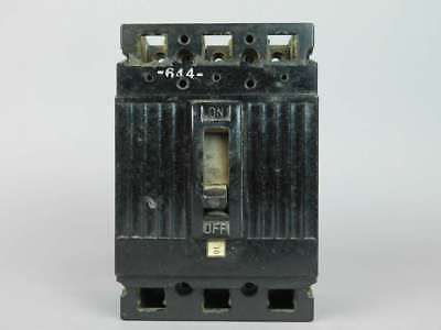 General Electric 3-Pole, 30 Amp, Circuit Breaker TEF134030