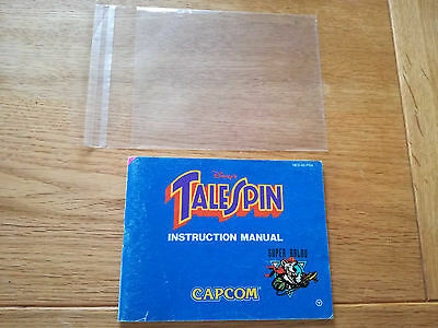 * Tale Spin FRA * PAL B - NES Original Anleitung - kein Modul / OVP