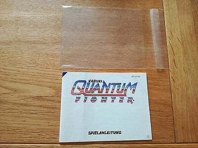 * Kabuki Quantum Figther NOE * PAL B - NES Original Anleitung - kein Modul /OVP