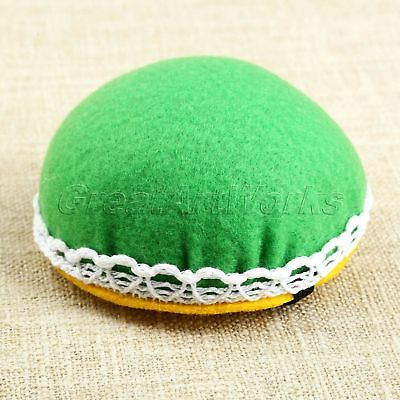 8cm DIY Craft Needle Pin Cushion Holder Cute Cross Stitch Sewing Accessories