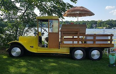 "1925 Ford Model T ""Woodie"" Flatbed 1925 Ford Model TT Street Rod   ****NO RESERVE***"