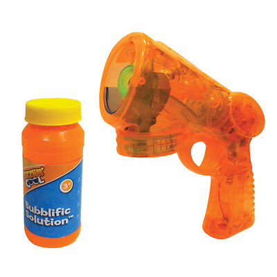 Sizzlin Cool Lite-Up Bubble Blaster - NEW