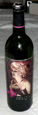 Marilyn Monroe 1991 Napa Valley Merlot Bottle (Empty)