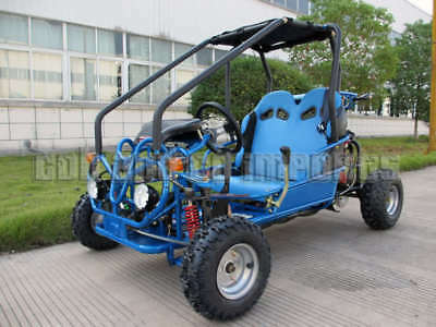 TWIN SEATER GoKart ATV REVERSE 110cc Junior Dune Buggy Semi Auto Off Road Save 6