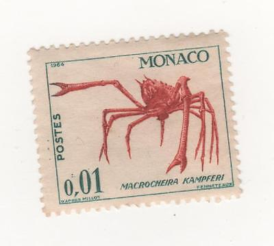 MONACO 1960  Marine Life and Plants 1c CRAB mint MUH
