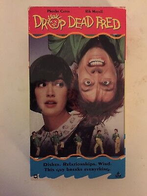 Drop Dead Fred VHS RARE Phoebe Cates Rik Mayall Carrie Fisher Matheson