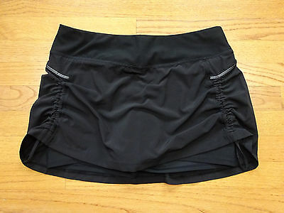 Lucy Women's Running Fitness Black Skirt/Skort Size M