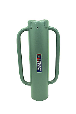 Landscaping and Fencing Post Hole Rammer With Strong Tubular Steel Body