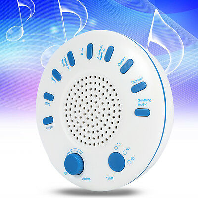Sound SPA Relaxing Machine White Noise Nature Peace Therapy Sleep 9 Musics BT