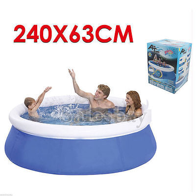 Air Inflatable Inflate Pool Toy Airtime Prompt Set Round Pool 240X63cm