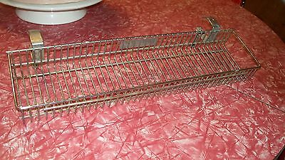 Rare metal Vintage McCormick store display spice rack has property of McCormick