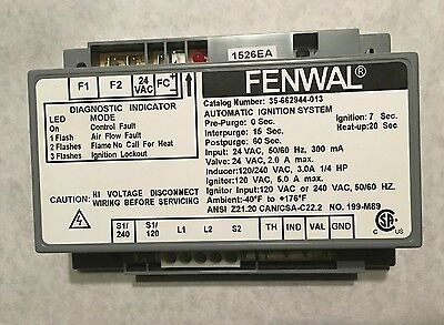 Fenwal 35-662944-013 Automatic Ignition Control System