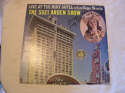 "Signed Suzi Arden ""Suzi Arden Show Live At the Mint Hotel"
