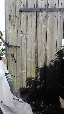 Old Antique Barn Cottage Ledged And Braced Tongue And Groove External Door Gate