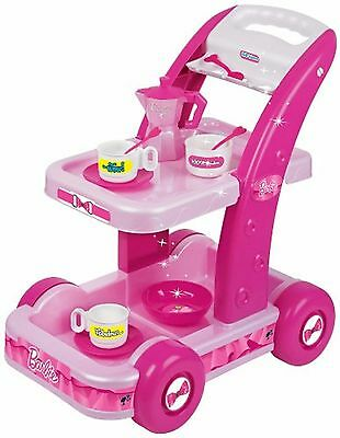 Pretend Play Faro Barbie Tea Set Trolley Ages 4+ Doctor Toy Doll Chef Kitchen