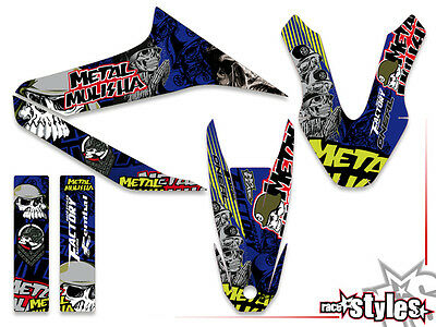 YAMAHA WR 125 R / X FULL BRAAAP !!! PREMIUM neon DEKOR DECALS STICKER KIT 09-17