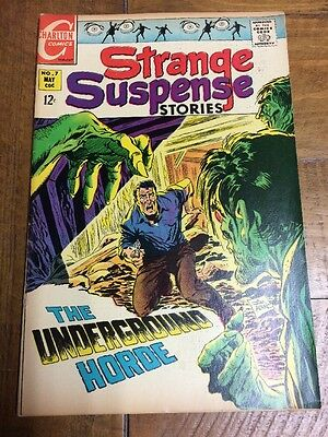Strange Suspense Stories #7 Charlton Comics 12 Cent (1969) Mid Grade