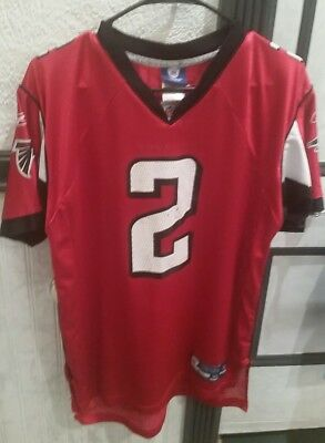 hot sale online db9b1 e3da3 NFL REEBOK ATLANTA Falcons Matt Ryan Jersey 2 Youth XL 18-20 Boys Red Ice  Jones
