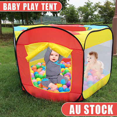 Portable Baby Ocean Ball Pit Pool Outdoor / Indoor Game Easy Folding Ball Pit