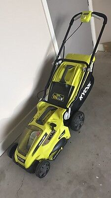 ryobi lithium 36v lawnmower (missing battery and charger)