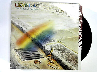 Level 42. The Pursuit of Accidents .. Vinyl LP - Picture sleeve.