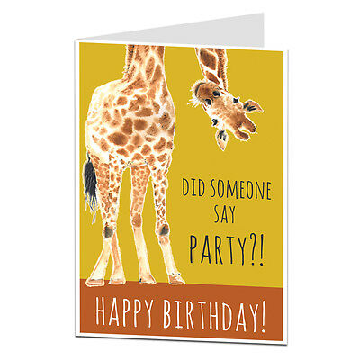 Funny Birthday Card For Him Her Lets Party Get Drunk Alcohol Best Friend Cards