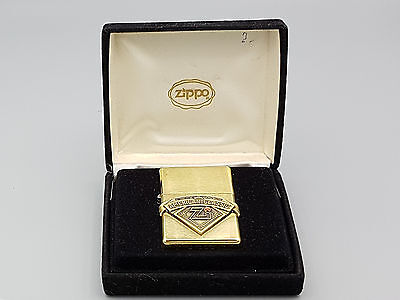 1998 Vintage solid brass Zippo lighter American Classic #583 - unfired - NMIB