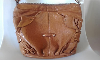 Genuine Pierre Cardin Ladies Leather Shoulder / Cross Body Bag