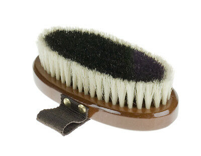 Horze Small Natural Body Brush - Horse Grooming Brushes