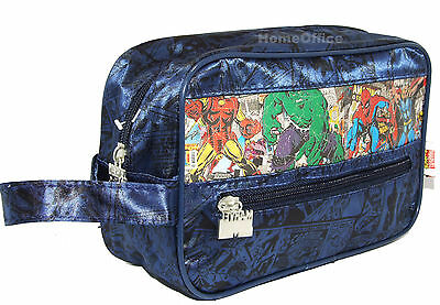 Marvel Comics Hero Travel Wash Bag Gift Set - Body Spray Etc Nice Gift