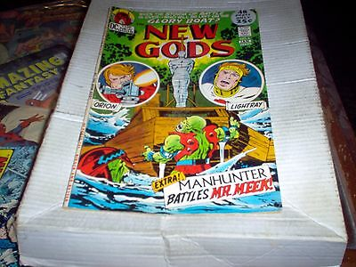 The New Gods # 6 Story & Art By Kirby 48 Pgs Orion Glory Boat Issue Look Fn-