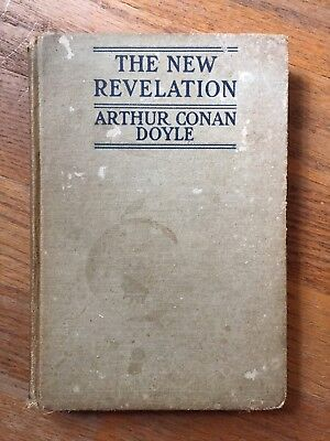 The New Revelation by Arthur Conan Doyle First edition USA 1918 Hardcover