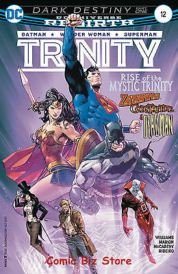 Trinity #12 (2017) 1St Printing Bagged & Boarded Dc Universe Rebirth