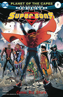 Super Sons #7 (2017) 1St Printing Bagged & Boarded Dc Universe Rebirth