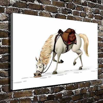Disney Tangled Maximus Paintings HD Print on Canvas Home Decor Wall Art Pictures