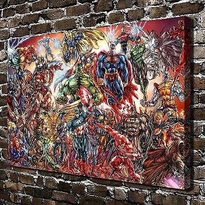 Avenger Justice League Paintings HD Print on Canvas Home Decor Wall Art Pictures