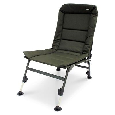 ABODE® ST Carp Fishing Tackle Oxford Camping Recliner Chair