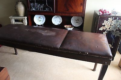 Antique Edwardian Rare Massage table/couch possibly by Reynolds & Branson