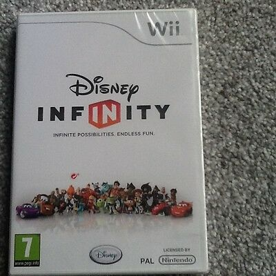 Nintendo Wii Game_Disney Infinity: Infinite Possibilities-Endless Fun-New/sealed