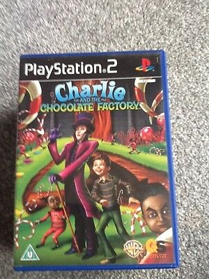 Playstation 2  Game_Charlie And The Chocolate Factory + Manual