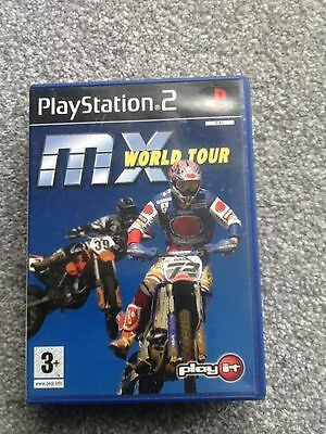 Playstation 2 Game_Mx : World Tour...no Manual