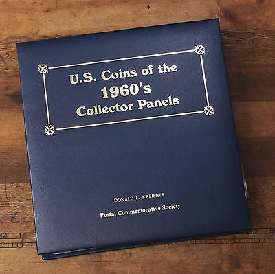 Postal Commemorative Society The U.S. Coins Of The 1960's 10 Collectors Panels