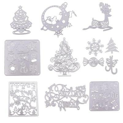 Hot 9 Type Metal Cutting Dies Scrapbook Paper Card Crafts Embossing Stencil DIY