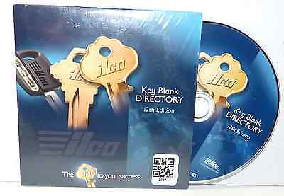 ILCO KEY BLANK DIRECTORY 12th EDITION PLUS ALL UPDATES & SUPPLEMENTS & MORE